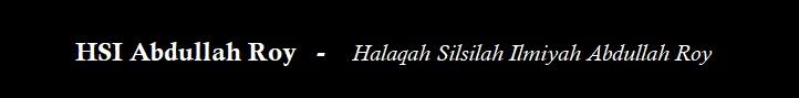 Halaqah Silsilah Ilmiyah